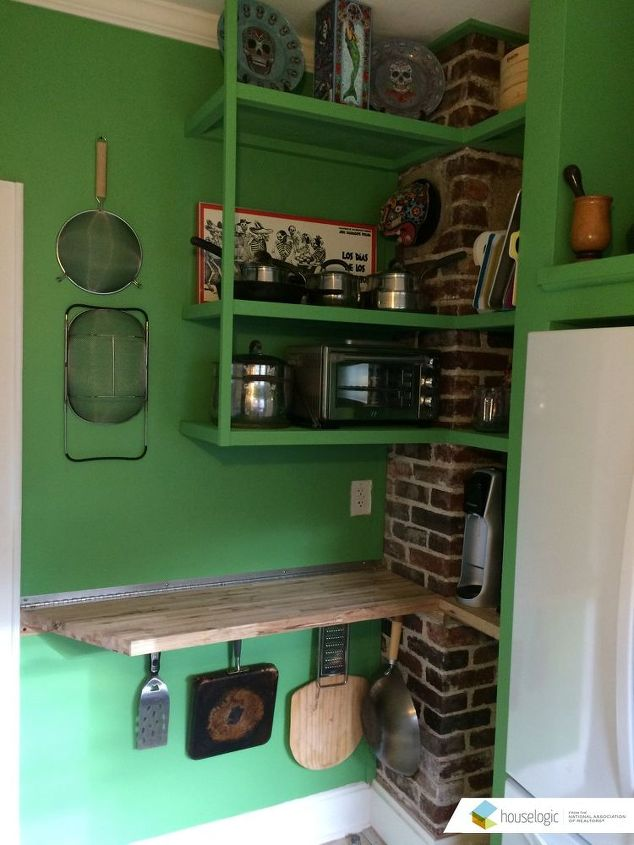 Fold Down Counter In A Small Kitchen Hometalk