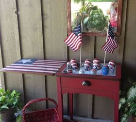 Sewing Machine Cabinet Made Into Holiday Cooler | Hometalk