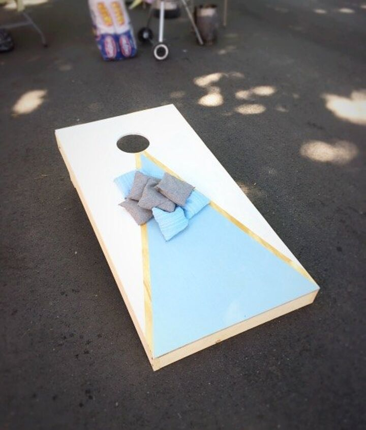 A Quick Easy Cheap Diy Cornhole Set Hometalk