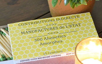 diy french matches, crafts, repurposing upcycling