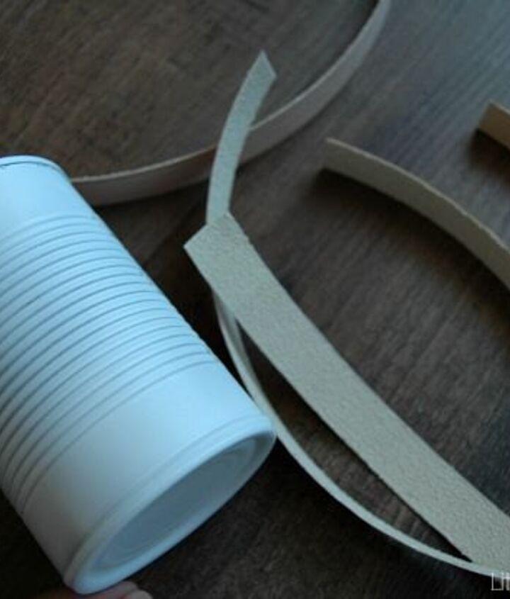 recycled tin can pumpkins, crafts, repurposing upcycling, seasonal holiday decor