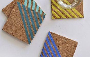 Make Colorful Striped Coasters in No Time at All!