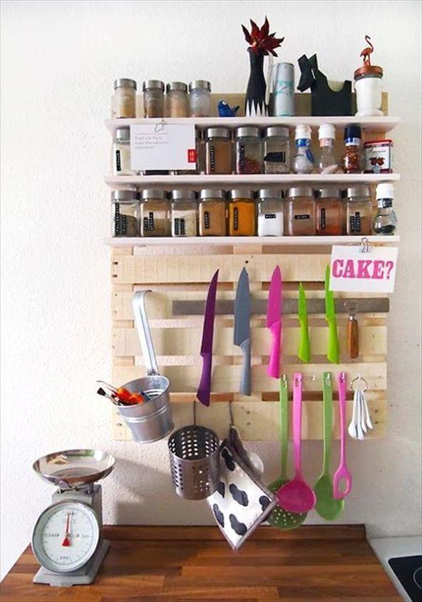 Diy Pallet Ideas For Kitchen Shelves Design Organizing Shelving