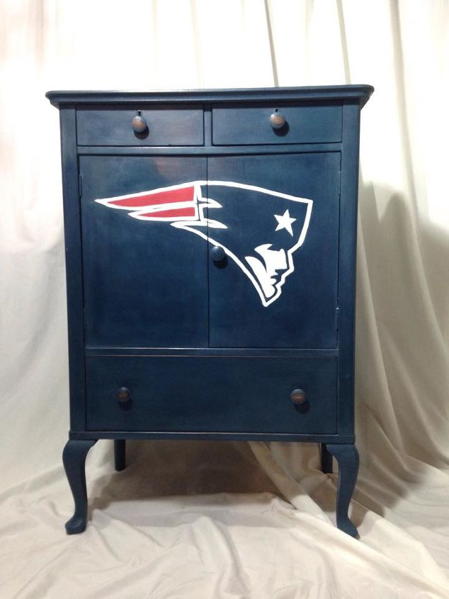 Patriots Dresser By Twin S Chic Painted Furniture