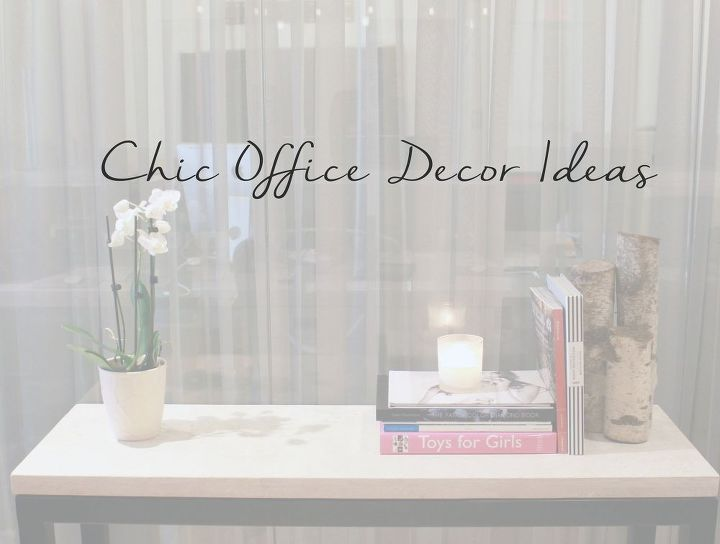 Chic Office Decor Ideas Home