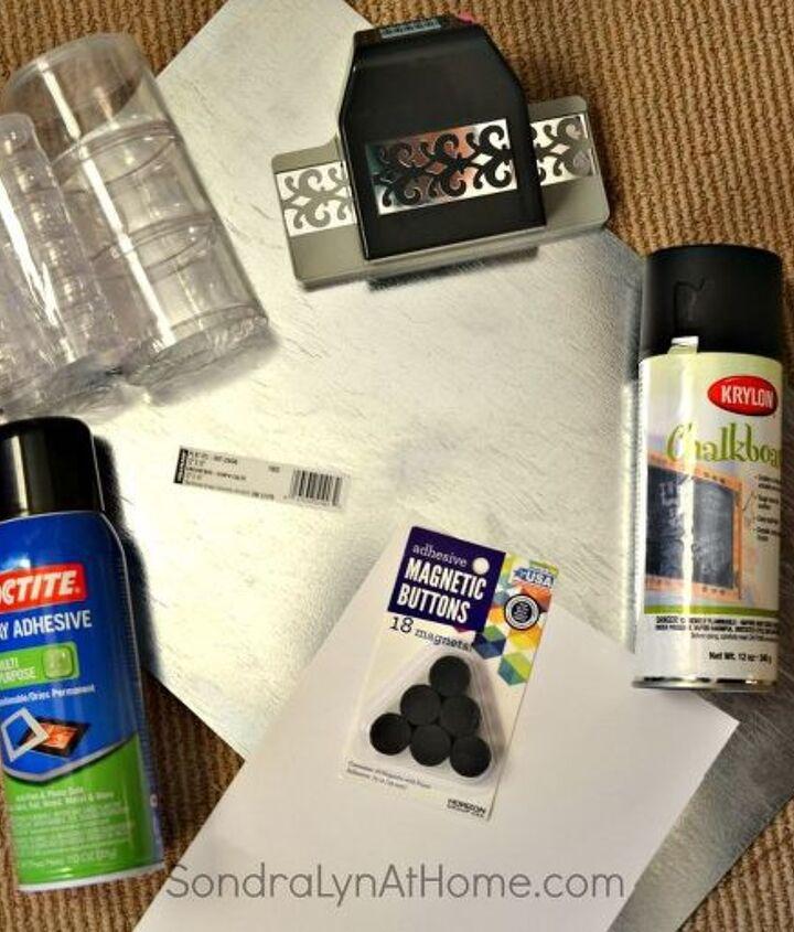 diy magnetic spice board, crafts, kitchen design, organizing