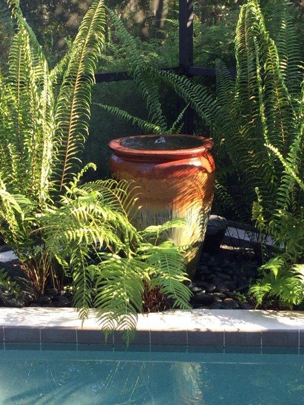diy garden fountain, diy, landscape, ponds water features