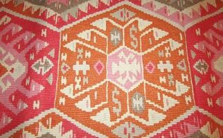 diy kilim rug, flooring, home decor, reupholster