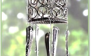 diy wind chimes for our creativecraftchallenge, crafts