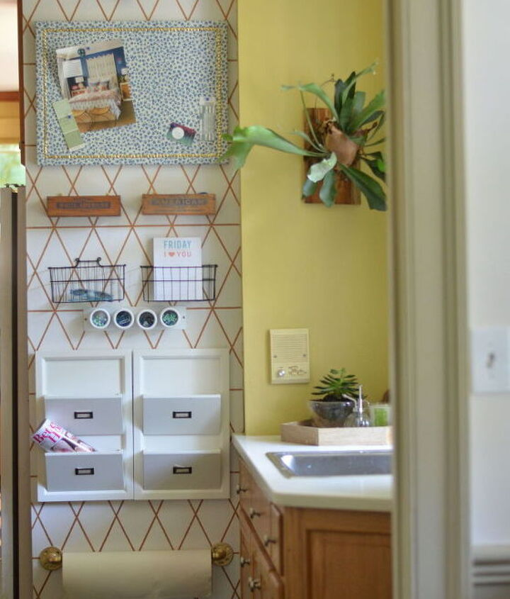 kitchen command center 2 0, kitchen design, organizing, wall decor
