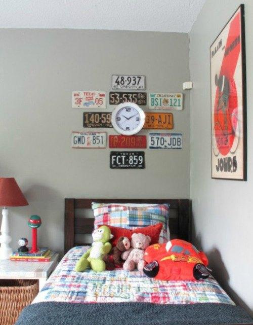 Easy License Plate Wall Art | Hometalk