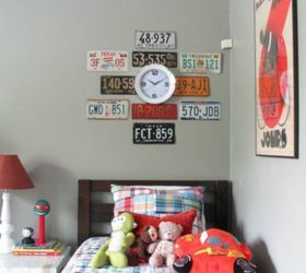 easy license plate wall art bedroom ideas crafts repurposing upcycling wall decor & Easy License Plate Wall Art | Hometalk