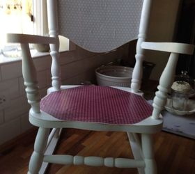 Little Cheryl Rocking Chair Refinish, Painted Furniture