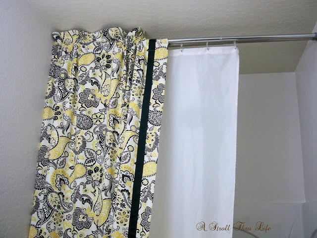 Diy Double Shower Curtain & Liner Tutorial | Hometalk