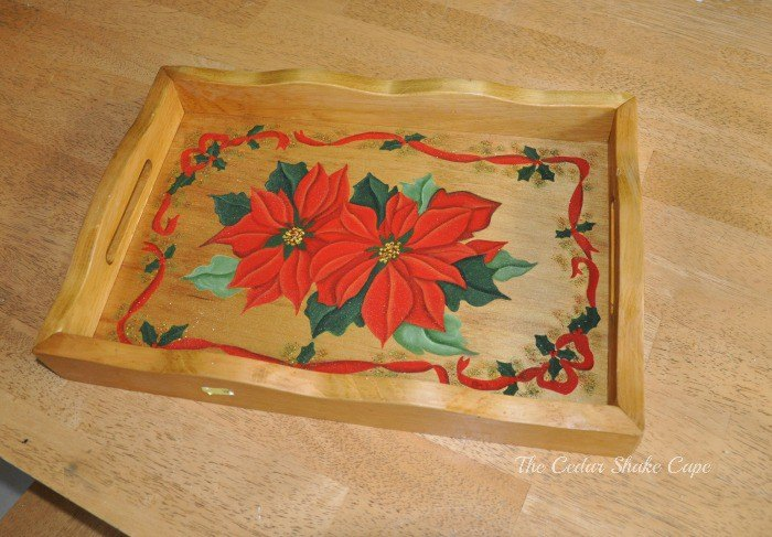 2 thrift store tray makeover, chalk paint, crafts