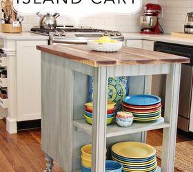 Diy Kitchen Island Cart With Plans, Diy, Kitchen Design, Kitchen Island,  Repurposing