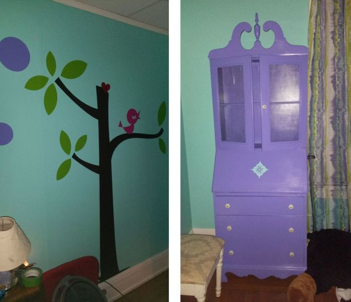 Turquoise and Purple Tween Room | Hometalk