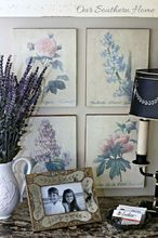 botanical art makeover, crafts, home decor, repurposing upcycling, wall decor