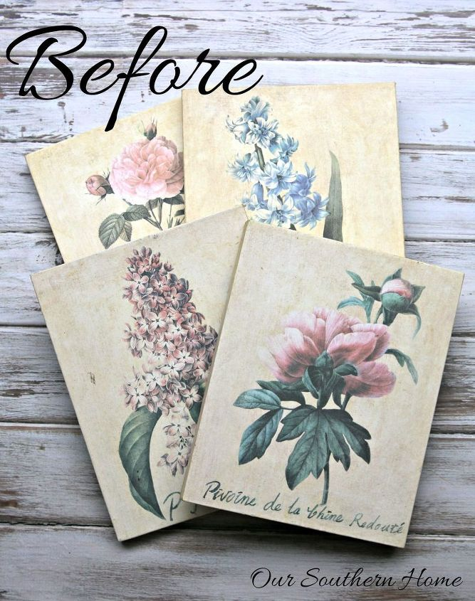 botanical art makeover, crafts, home decor, repurposing upcycling, wall decor