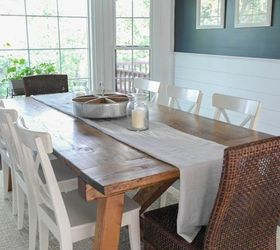 Farmhouse Table And Dining Room Makeover, Dining Room Ideas, Diy, Painted  Furniture, Part 53