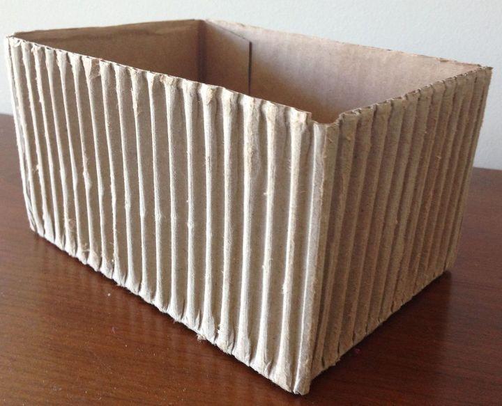corrugated cardboard and jute twine vase hometalk