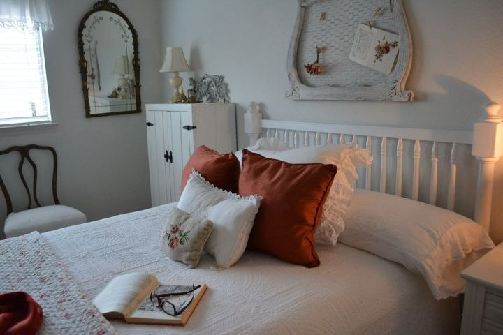 headboard from a crib rail, bedroom ideas, repurposing upcycling