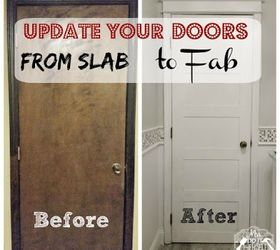 Awesome Update Your Doors From Slab To Fab, Diy, Doors, How To, Painting