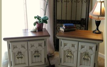 Chalk Painting 101 Video! Painting Two Vintage Night Stands!