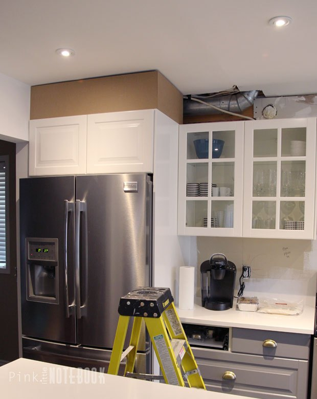 diy how to disguise a kitchen soffit, diy, how to, kitchen design, woodworking projects