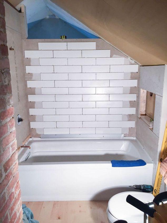 DIY Attic Bathroom Renovation Hometalk - Bathroom renovation manhattan