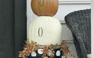 diy pumpkin topiary, crafts, halloween decorations, seasonal holiday decor