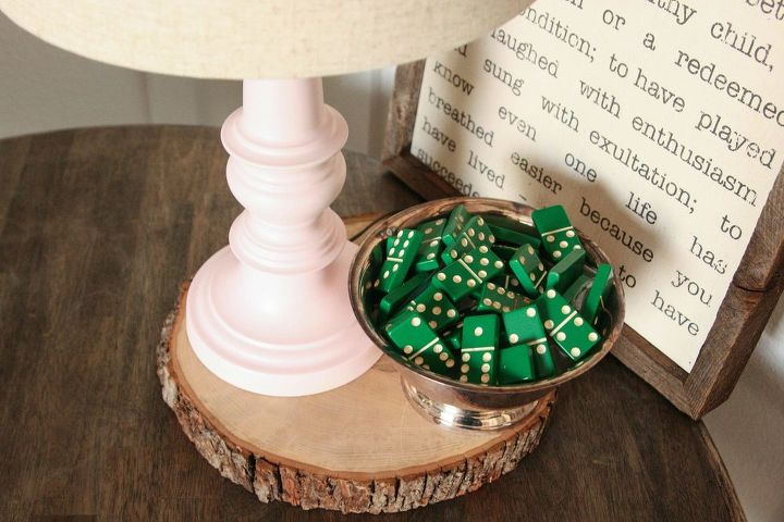 brass is out pink is in, chalk paint, home decor, lighting, repurposing upcycling