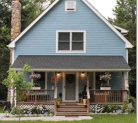Blue Cottage Garden Landscaping Progress