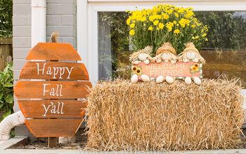Happy Fall Y'all! Or What You Can Do With Discarded Wood and Paint?