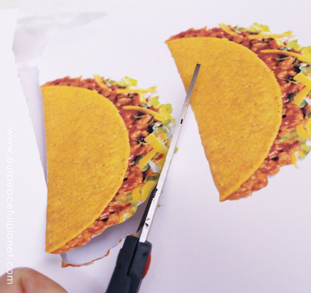 burger taco napking holder from cd or dvds, crafts, how to, repurposing upcycling