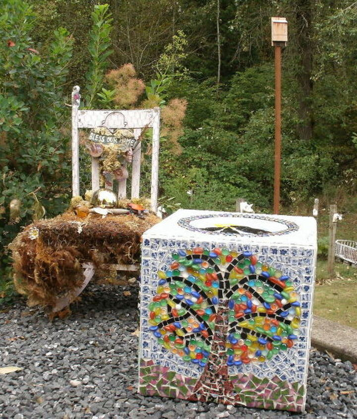 my outdoor thinking box, crafts, outdoor living