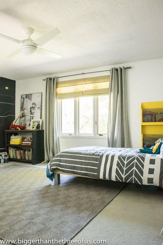 BeforeAfter Modern And Bright Boy Room With Lots Of DIYs Hometalk Fascinating Bedroom Diys