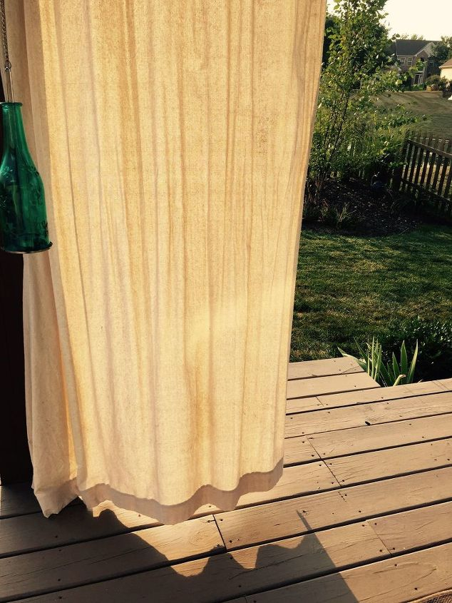 q weights for outdoor drapes, window treatments