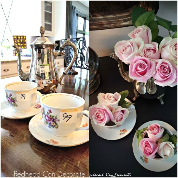 s 13 brilliant things you can make from common thrift store finds, crafts, repurposing upcycling, From an Abandoned Tea Set