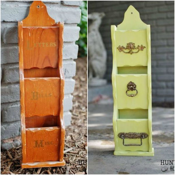 s 13 brilliant things you can make from common thrift store finds, crafts, repurposing upcycling, From an Old Wooden Mail Divider