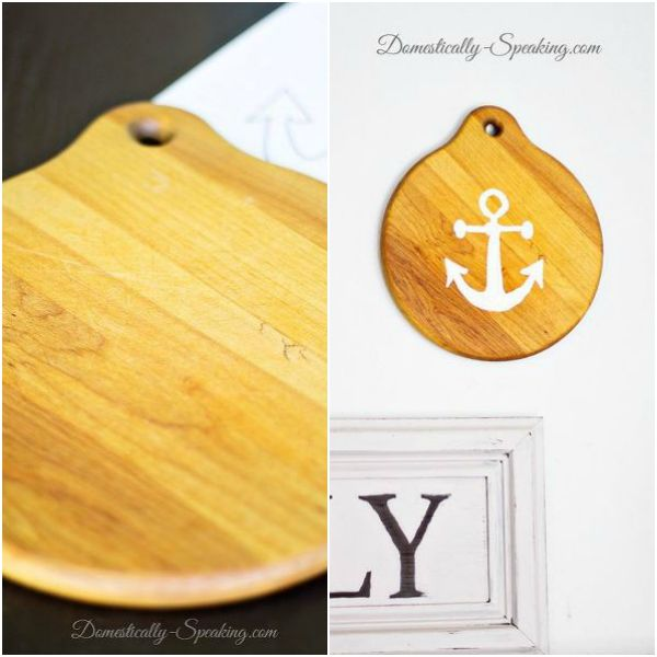 s 13 brilliant things you can make from common thrift store finds, crafts, repurposing upcycling, From a Lonely Cutting Board
