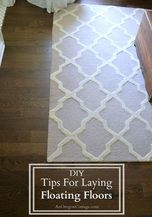 tips tricks for laying floating floors, diy, flooring, home improvement, how to