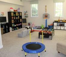 fun organized playroom, entertainment rec rooms, organizing, storage ideas