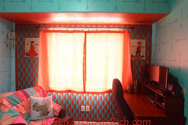 diy custom curtains easy sew, home decor, reupholster, window treatments