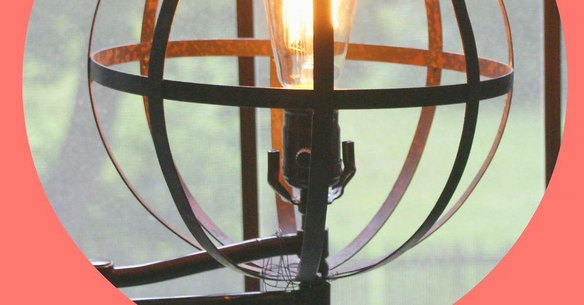 Land of Nod-Inspired Orbital Floor Lamp DIY | Hometalk