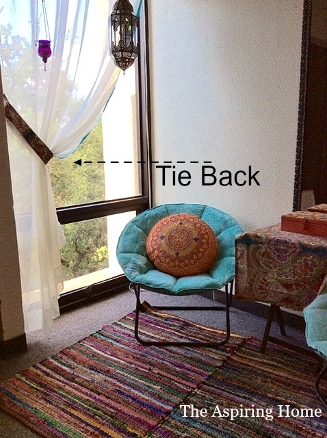 1 Shower Curtain 5 Easy Projects Home Decor Repurposing Upcycling Window Treatments