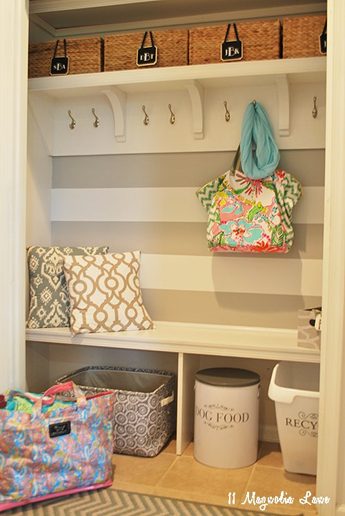 Turn That Unused Room Of The House Into This: How We Turned An Unused Hallway Closet Into A Mudroom