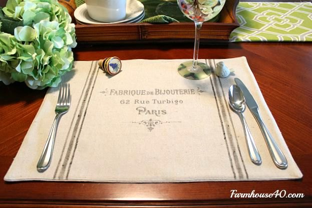 How To Make French Placemats Hometalk