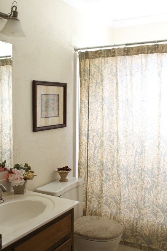 Diy Farmhouse Bathroom Ideas Home Decor Shelving Small
