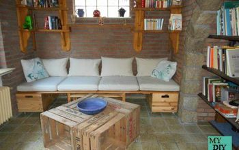 our new reading corner, diy, repurposing upcycling, woodworking projects